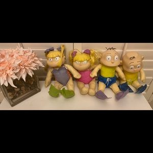 Other - Vintage swimming rugrats set of 4